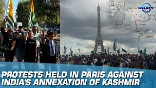 Protests Held In Paris Against India's Annexation Of Kashmir | Indus News