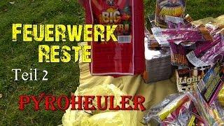 Feuerwerk Einkauf Reste 2013/2014 - Unboxing Umzugkartons Part 2