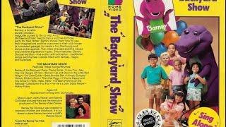 Barney - The Backyard Show (1988) [1992, VHS]