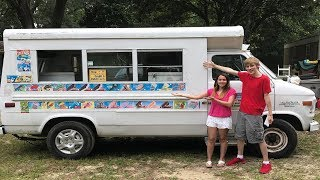 WE BOUGHT AN ICE CREAM TRUCK!!!