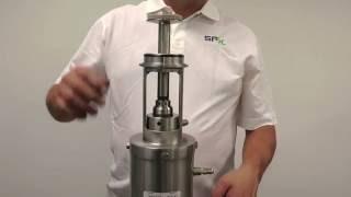 SPX Flow - WCB - W70 Series Mix Proof Valve Seat Clean Movement Adjustment Procedure