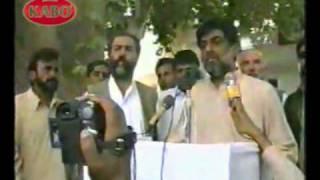 Mir Abdul Wadood Raisani In KALAT Jirga Part Final Upload By ABID BOLANI