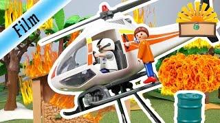 WALD STEHT in FLAMMEN - FAMILIE Bergmann #68   Staffel 2 - Playmobil Film deutsch