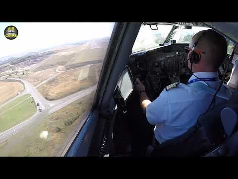 Good Old Hand-Flying! Boeing 737-400SF smoothly landed by our favorite Captain Fabien! [AirClips]