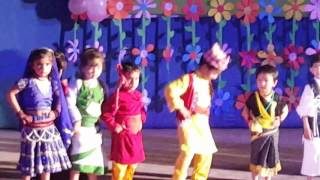 Nursery fashion show (euro kids)