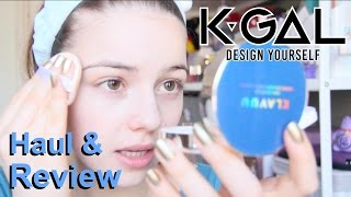 ❀ K-Beauty Review ❀ KAYGAL Haul ft. KLAVUU Sheet Mask and Aqua Cushion