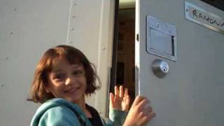 Joey King and Selena Gomez the first day of filming 'Ramona and Beezus'