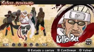 Naruto Shippuden Ultimate Ninja Impact - Todos los personajes (all characters)