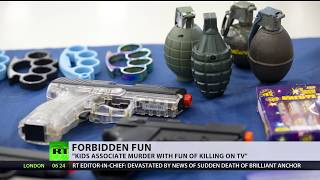 Forbidden Gun: UK nurseries ban children