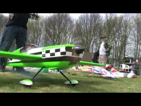 Global rc MXS 100CC 2nd flight gold wing dle 111 AS POWER CANS WWW.TRCT.CO.UK