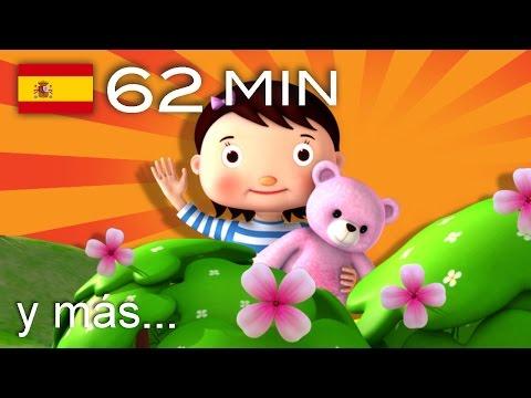 Osito, osito | Y muchas más canciones infantiles | ¡62 min de LittleBabyBum!