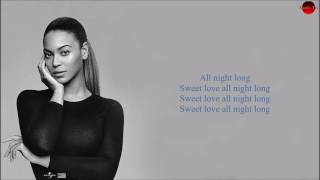 Beyonce All Night Lyrics Fifty Shades Darker #beyonce