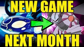 NEW Pokemon Game Announcement Next Month!