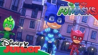 PJ Masks | PJ Masks are Feeling Great Music Video | Disney Junior UK