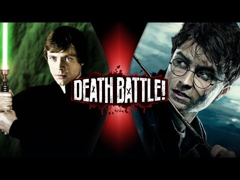 Luke Skywalker VS Harry Potter DEATH BATTLE ScrewAttack