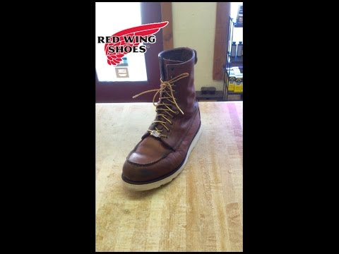 Red Wing Sole Replacement on a model 8830 Recrafting
