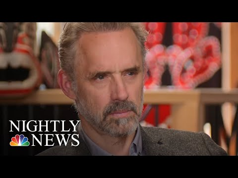 Extended Interview Jordan Peterson Discusses How The World Shapes His Views NBC Nightly News