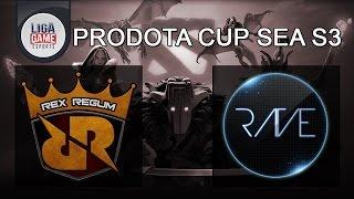 DOTA 2 Live : RRQ (Indonesia) vs RAVE (Philippine) ProDota Cup SEA Season 3