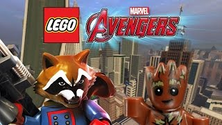 Creating Rocket Raccoon and Groot! | LEGO Marvel's Avengers Customs