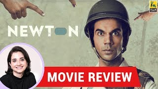 Anupama Chopra's Movie Review of Newton