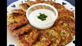 Best Zucchini Fritters & Top Tip to make it taste great (Mucver)
