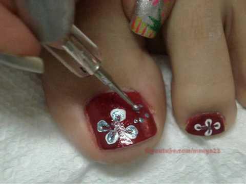 Diseño para uñas de los pies peticion de REGBALRE