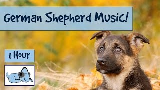 German Shepherd Music! Music to Relax and Calm Down Hyper or Stressed German Shepherds or Alsatians!
