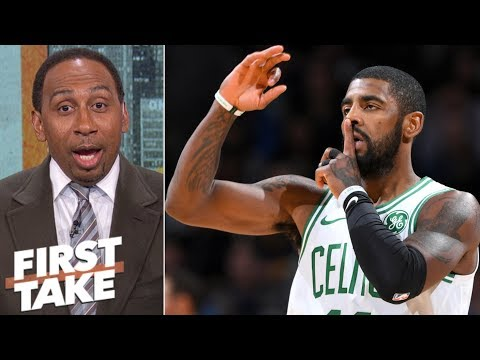 Stephen A. 'loves' Kyrie Irving's reaction to Jamal Murray going for 50 First Take