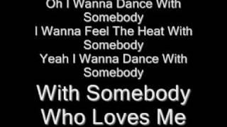 whitney huston wanna dance with somebody lyrics