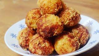 مطبخ الأكلات العراقية - كرات البطاطا بالجبن