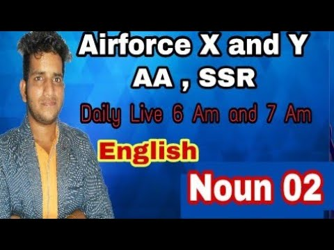 Xxx Mp4 AIRFORCE X AND Y LIVE CLASS ENGLISH NOUN 02 MORNING SPECIAL 3gp Sex