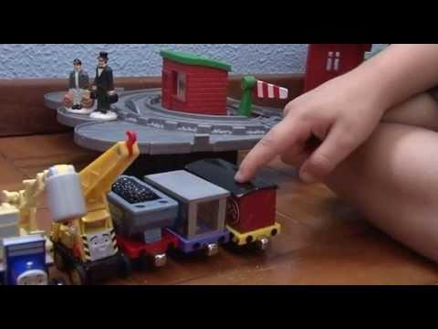 Thomas e seus amigos Davi e sua coleção