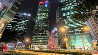Singapore 2014 Night Timelapse - best time lapse