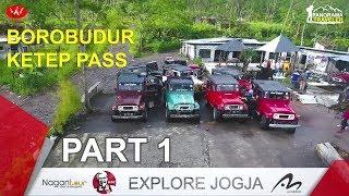 TOUR JOGJA Part 1 (Borobudur - Ketep Pass)