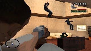 GTA SAN ANDREAS TẬP 20 BỊ CẢNH SÁT ĐẶC NHIỆM TRUY SÁT / BÌNH LUẬN GAME GTA
