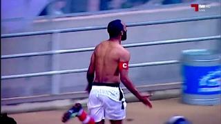أهداف مباراة النادي الإفريقي 1 - 0 الترجي التونسي (الدوري التونسي) 08/02/2017 CA vs EST