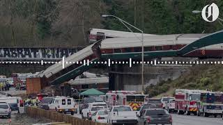 """""""We got cars everywhere, and down onto the highway"""": Dispatch audio from Amtrak train derailment"""