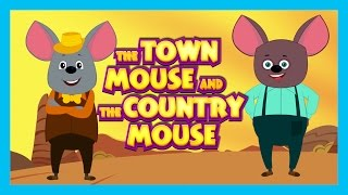 The Town Mouse and The Country Mouse - Bedtime Story For Kids || Two Mouse Story - Kids Story