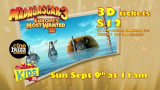 Madagascar 3 Europe's Most Wanted - Kids Movie Club