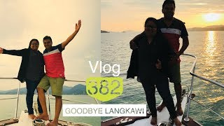 Goodbye Langkawi with a Romantic Sunset Cruise Dinner Vlog #382
