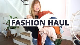 Fall Fashion Haul | Ashley Nichole