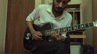 Warfaze - Jotodure (1st and 2nd guitar solo cover)