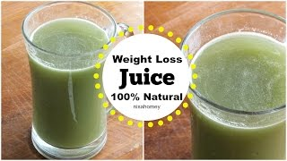 Weight Loss Juice/Drink - 100% Effective Natural Remedy To Lose Weight Fast