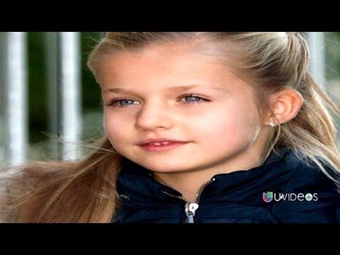 Leonor la princesa más joven de Europa