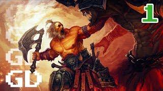 Diablo 3 Gameplay Part 1 - Barbarian - Let's Play Series