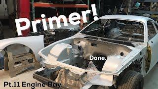 Pt.11 | Mkiv Supra Build | Engine bay primer!