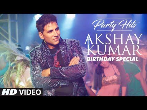 AKSHAY KUMAR Party Hits | Birthday Special | VIDEO JUKEBOX |  Top Party Songs 2016