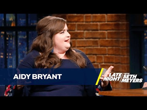 Aidy Bryant Passed Out in Her Apartment Hallway After an SNL Party