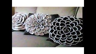 DIY Decorating ideas | Cushion Cover idea | Smocked Pillow Cover Design | Pillow | Home decor