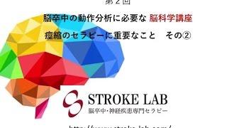 第2回 脳科学講座 痙縮に対するセラピー その② STROKE LABチャンネル